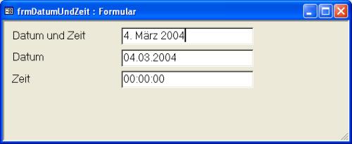 englisch datum von bis schreibweise