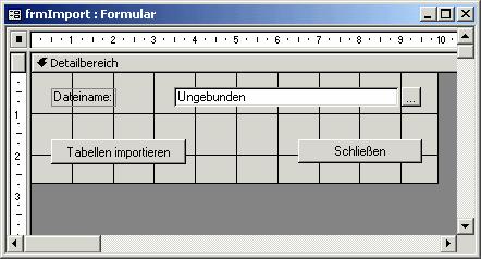 Automatisierter Import von Excel-Tabellen [Access im Unternehmen]