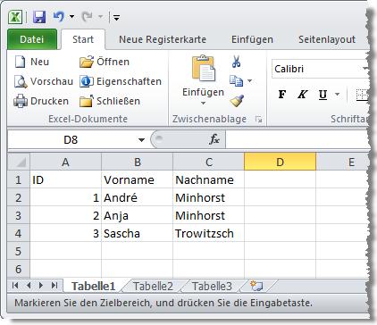 Excel im Zugriff per SQL, DAO und Co. [Access im Unternehmen]