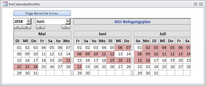 Kalendersteuerelement, Teil 2 [Access im Unternehmen]